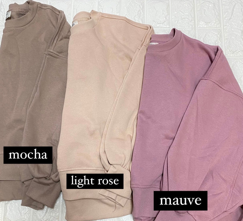 OUR FAVORITE SWEATSHIRT- 8 COLORS