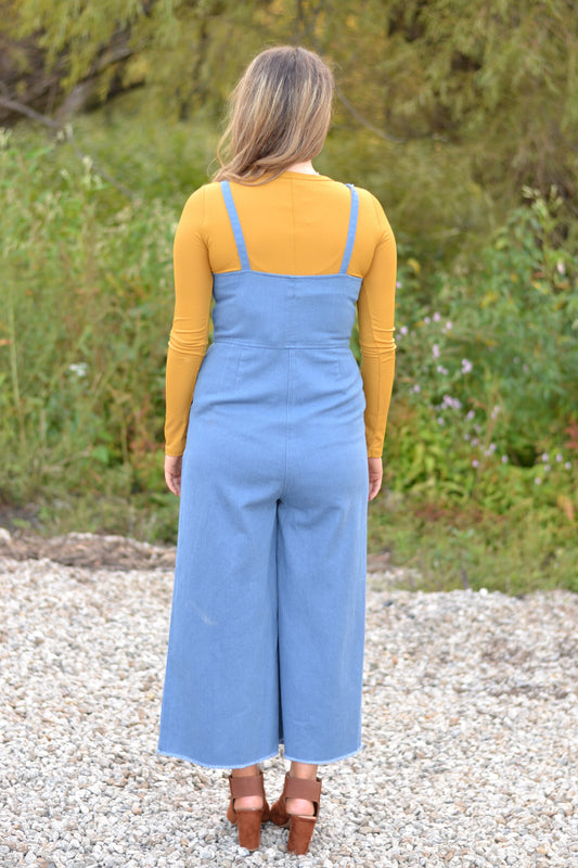 IN YOUR DENIM DREAMS JUMPSUIT
