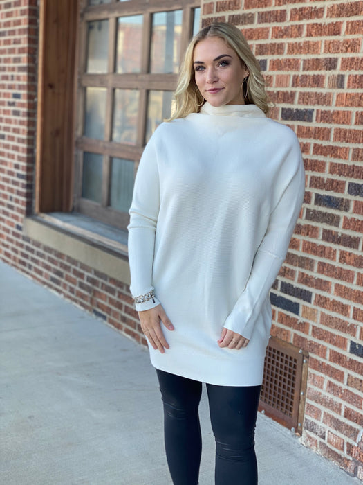 LET'S GET AWAY SWEATER DRESS