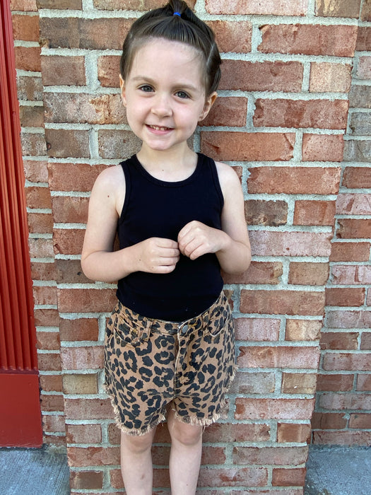 KIDS ANIMAL PRINT SHORTS