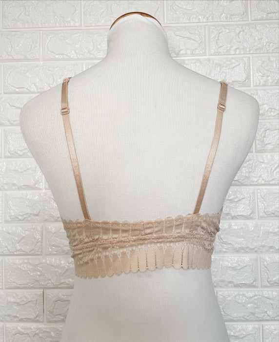 CROSS FRONT BRALETTE- 2 COLORS