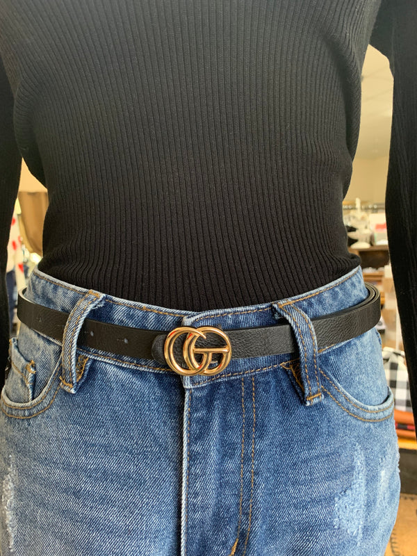 THIN G BELT- 3 COLORS