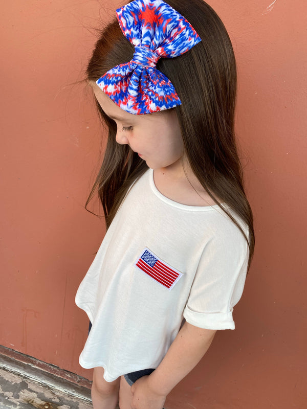 KIDS AMERICAN THE BRAVE TEE