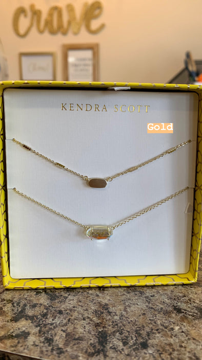 KENDRA SCOTT: GIFT SET FERN & EVER NECKLACES