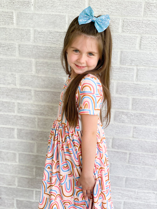 GROOVY GIRL TWIRL DRESS