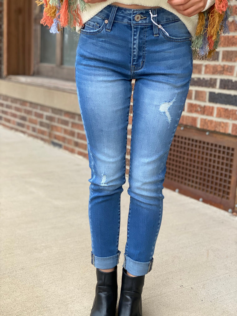 DENIM DAZE CROPPED JEAN