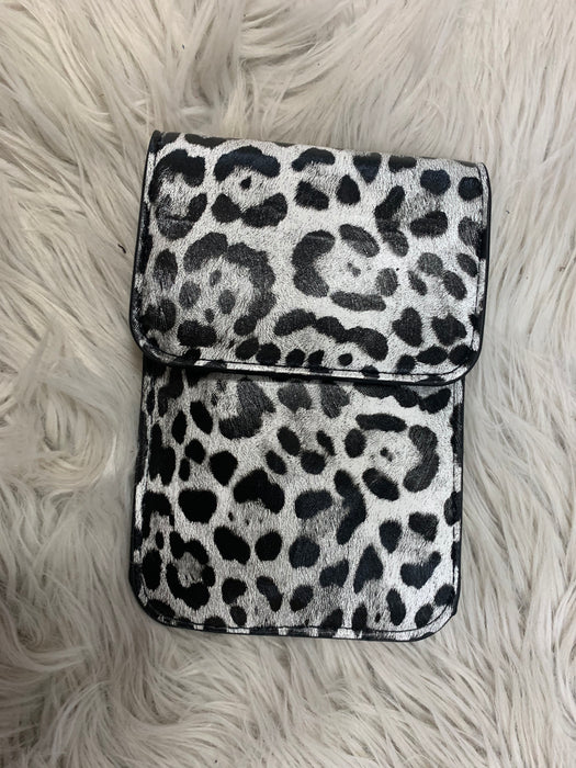 LEOPARD PHONE CROSSBODY