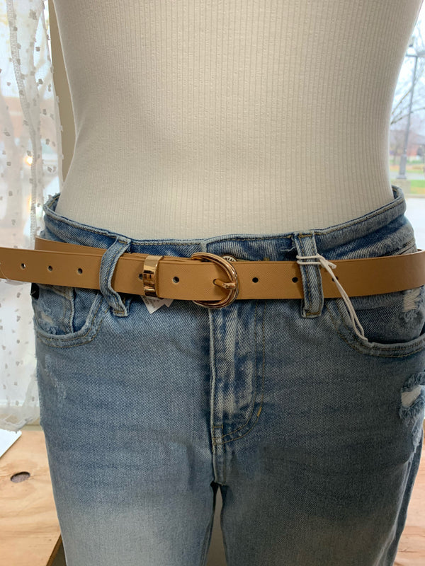 METAL RING THIN BELT