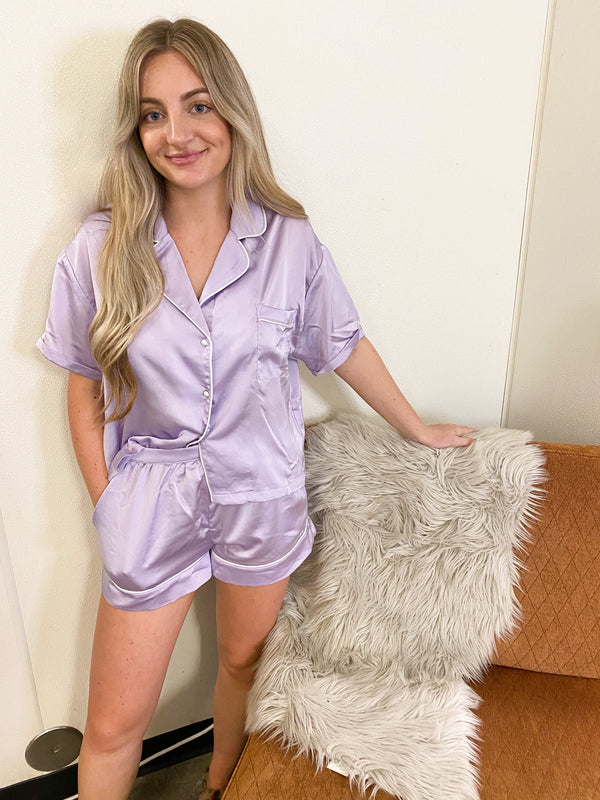 SLEEPY HEAD- LAVENDER PJ SET