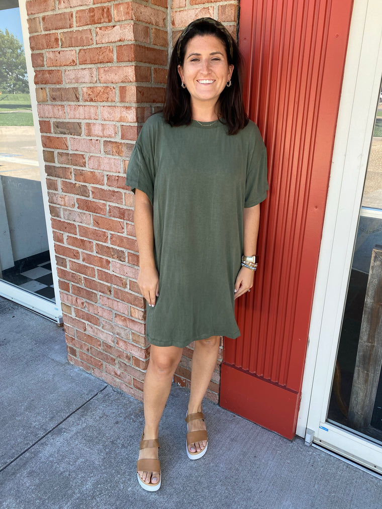 BETTER WITH TIME T SHIRT DRESS