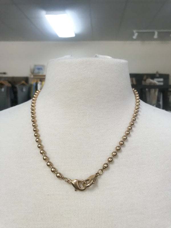 FACE MASK CHAIN NECKLACE