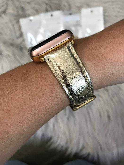 METALLIC WATCH BAND