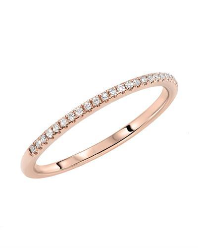 Kono Collection Brand New Ring with 0.3ctw lab-grown diamond 14K Rose gold