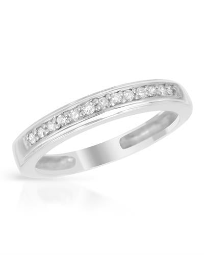 Brand New Ring with 0.12ctw diamond 925 Silver sterling silver