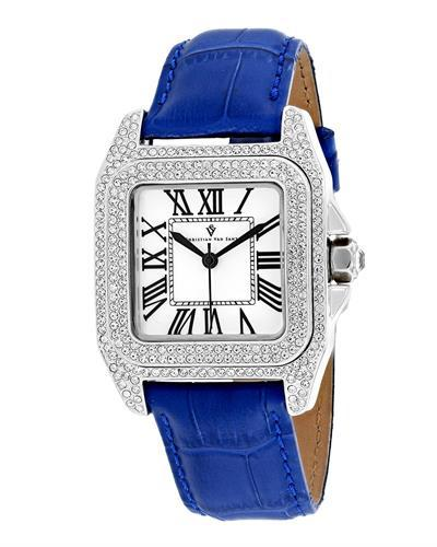 Christian Van Sant CV4422 Radieuse Brand New Quartz Watch with 0ctw crystal