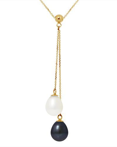 Ateliers Saint Germain Brand New Necklace with 0ctw pearl 9K Yellow gold