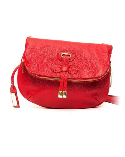 Trussardi D66TRC1016 Rosso Brand New Handbag  Red leather