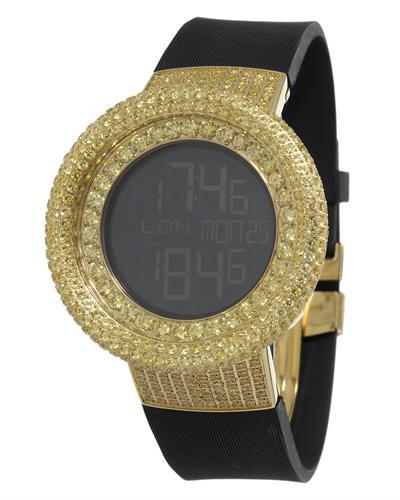 KC WA009468 Brand New Digital multifunction Watch with 0ctw crystal