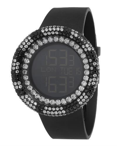 KC WA009463 Brand New Digital multifunction Watch with 0ctw crystal
