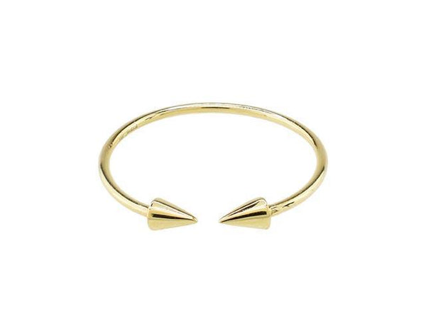 SeChic Brand New Open Ring in 14K Gold Plated Silver