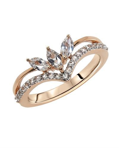 Brand New Ring with 0.5ctw sapphire 10K Rose gold