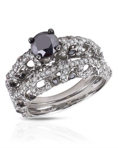 Brand New Ring with 2ctw of Precious Stones - diamond, diamond, and diamond 925 Silver sterling silver