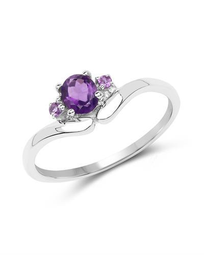 Brand New Ring with 0.38ctw amethyst 925 Silver sterling silver