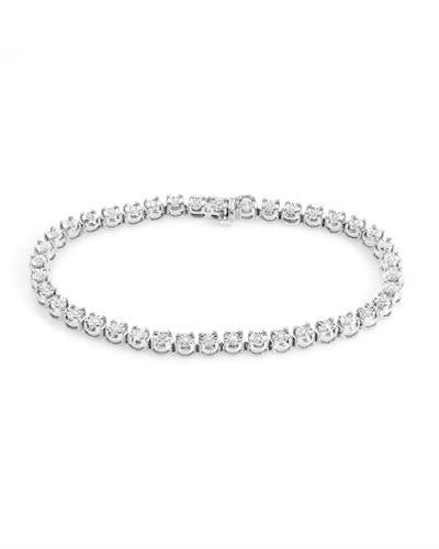 Brand New Bracelet with 0.5ctw diamond 925 White sterling silver