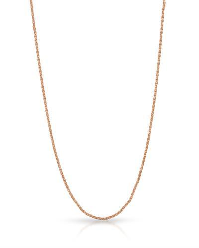MILLANA Brand New Adjustable Chain Necklace 14K Rose Gold