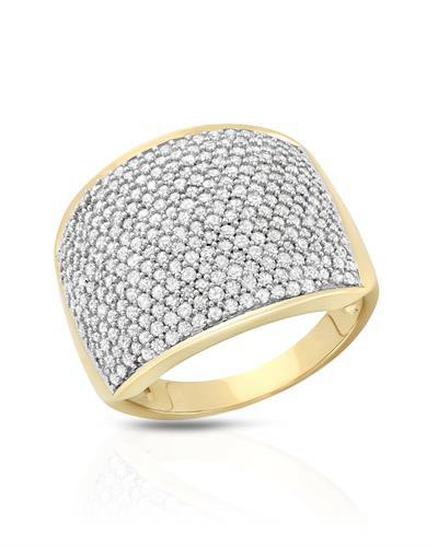 Brand New Ring with 1.5ctw diamond 10K Yellow gold