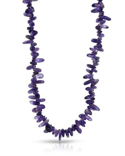 Brand New Necklace with 0ctw amethyst