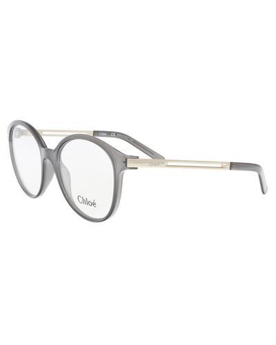 Chloe CE2693 36 Brand New Eyeglasses  Silver metal and  Grey plastic