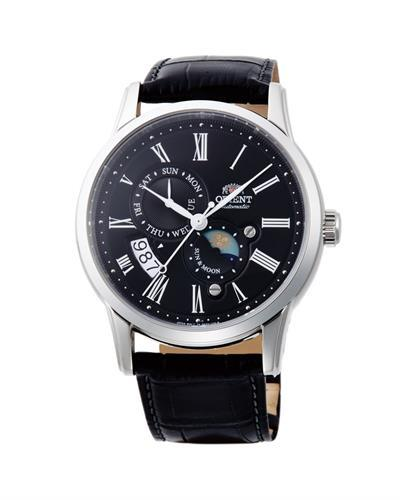 ORIENT FAK00004B0 Brand New Automatic (Self Winding) Day Date and Moondial Watch