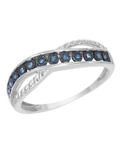 Brand New Ring with 0.06ctw diamond 925 Silver sterling silver