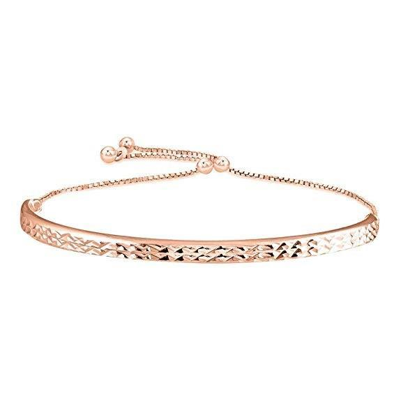 Bedazzled Bijou Brand New Bracelet in 925 Gold Plated Silver