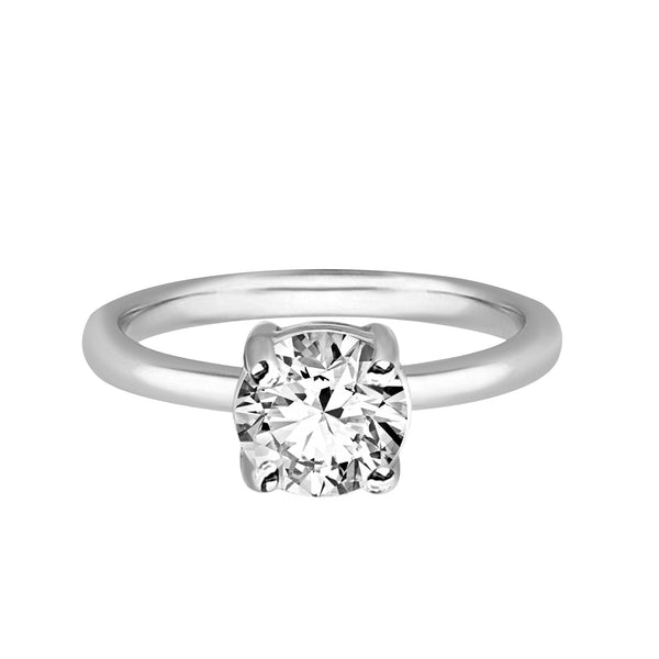Tanache Brand New Ring with 0.63ctw Genuine Diamond in 10K White Gold
