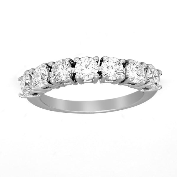 FD Brand New Ring with 0.88ctw Lab Grown Diamonds in 10K White Gold