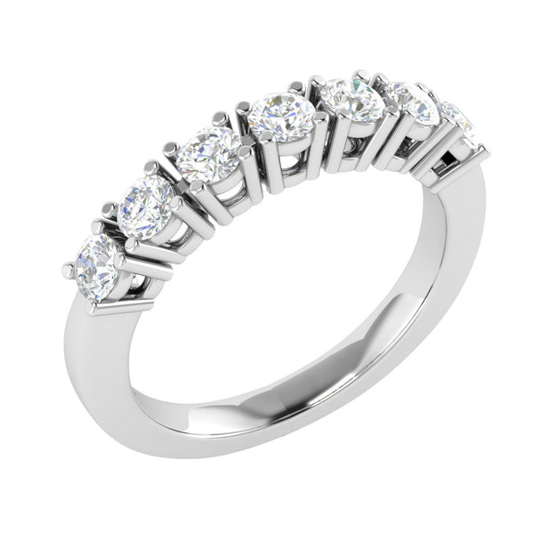 FD Brand New Ring with 0.38ctw Lab Grown Diamonds in 14K White Gold