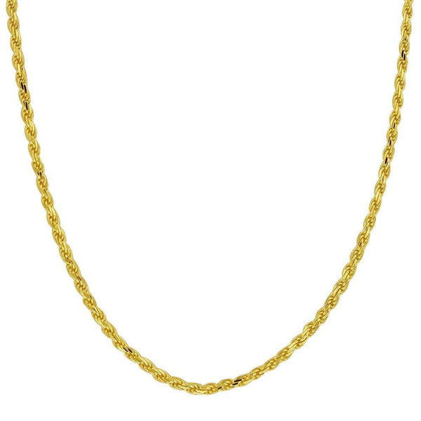 Bedazzled Bijou Brand New Chain Necklace in 10K Yellow Gold