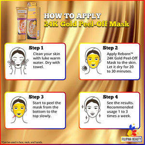 Wokali 24K Gold Peel Off Mask | BUY 1 TAKE 1