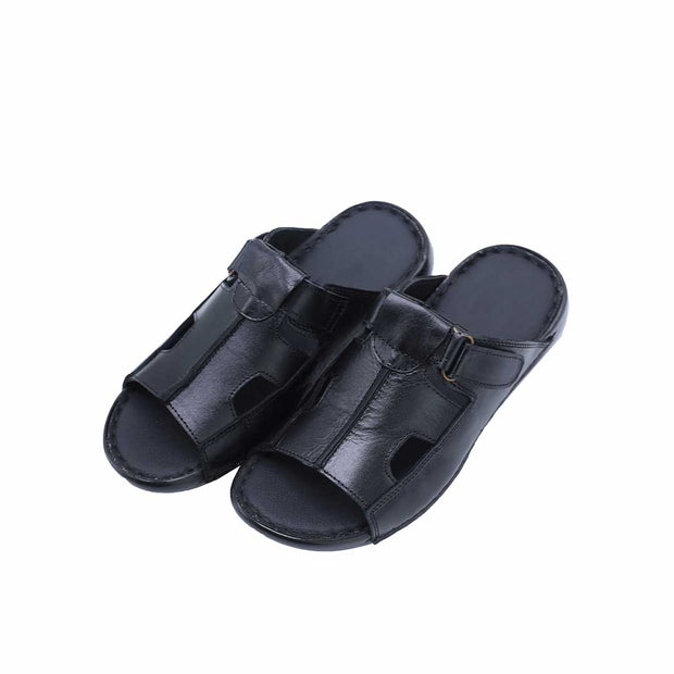 Black Strap Slippers-R3