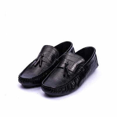 KNOT - VampWelt Black Tassel Loafers (2)-VW-130