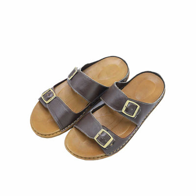 Double Buckle Slipper-R1