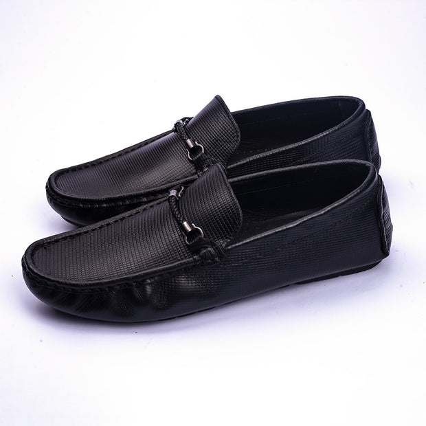 VampWelt Embossed Leather Slip-On - Vamp Welt