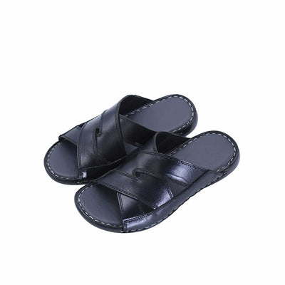 VampWelt Black Leather Slipper (2)-R6