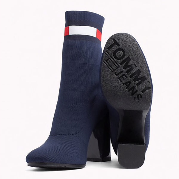 Tommy Hilfiger EN0EN00277 406 sock Heeled Boot midnight