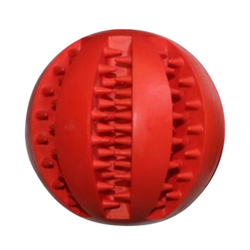 Rubber ball for teeth
