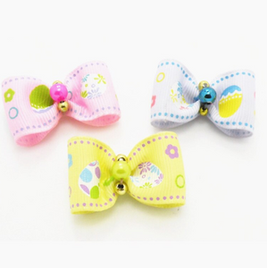 Easter hair bow 2 pieces kit (TP)