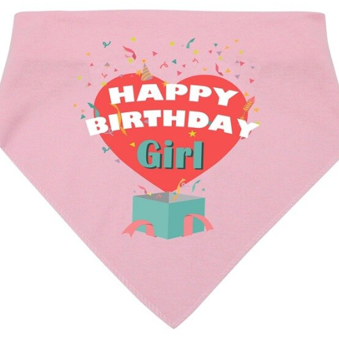 Birthday Bandana