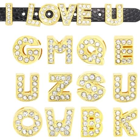 Charm letter gold (any letter)